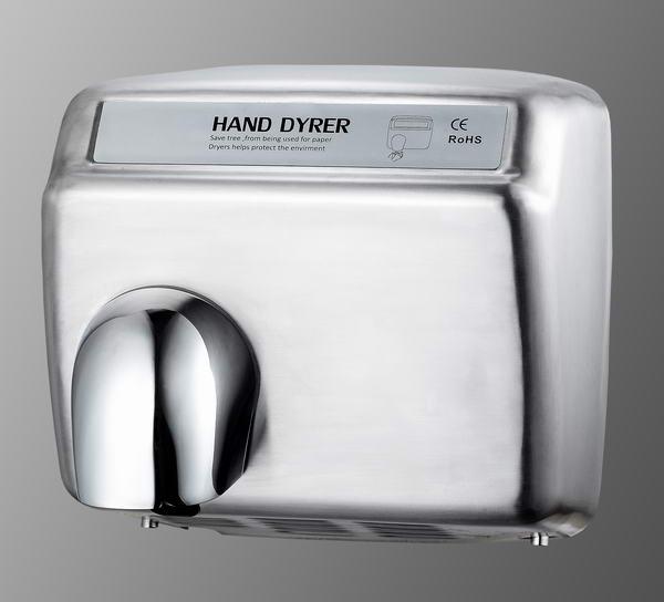 Sensor stainless steel hand dryer for public area, High speed hand dryer