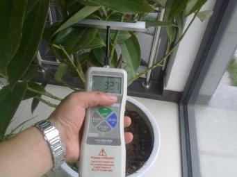 QT-DFA Portable plant stem strength tester