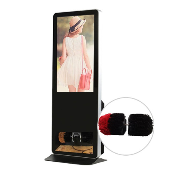 "43""Shoe Polisher Advertising Player"