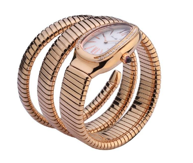 newest fashion snake shape wrist watch