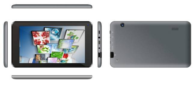 A07007, 7 inch wifi-only tablet, Quad-core, 800*480 IPS, G+9, 512MB+4GB, dual camera 0.3+0.3MP, meta