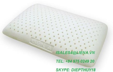 Standard latex pillow- Oval Pillow- 100% nature
