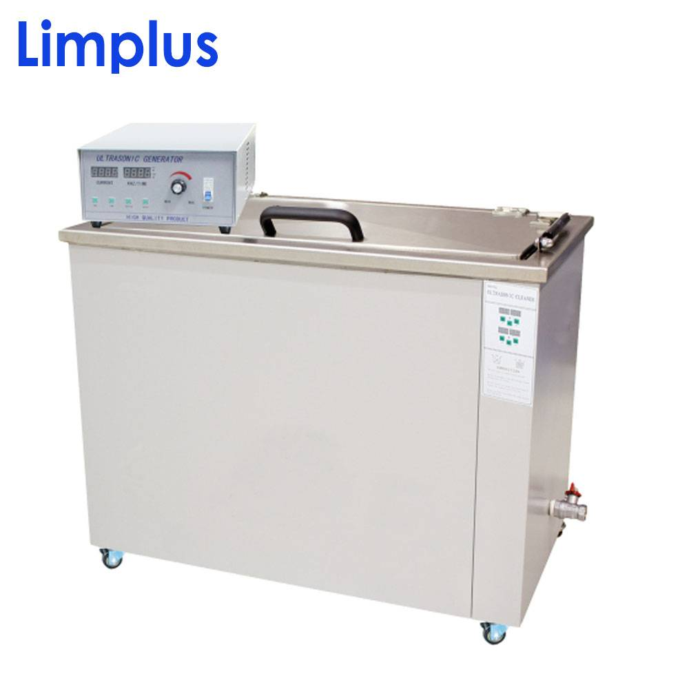 Limplus big capacity ultrasonic cleaning machine with castors