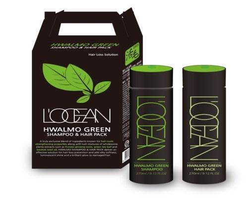 Locean Hwalmo Green Shampoo & Hair Pack 270ml