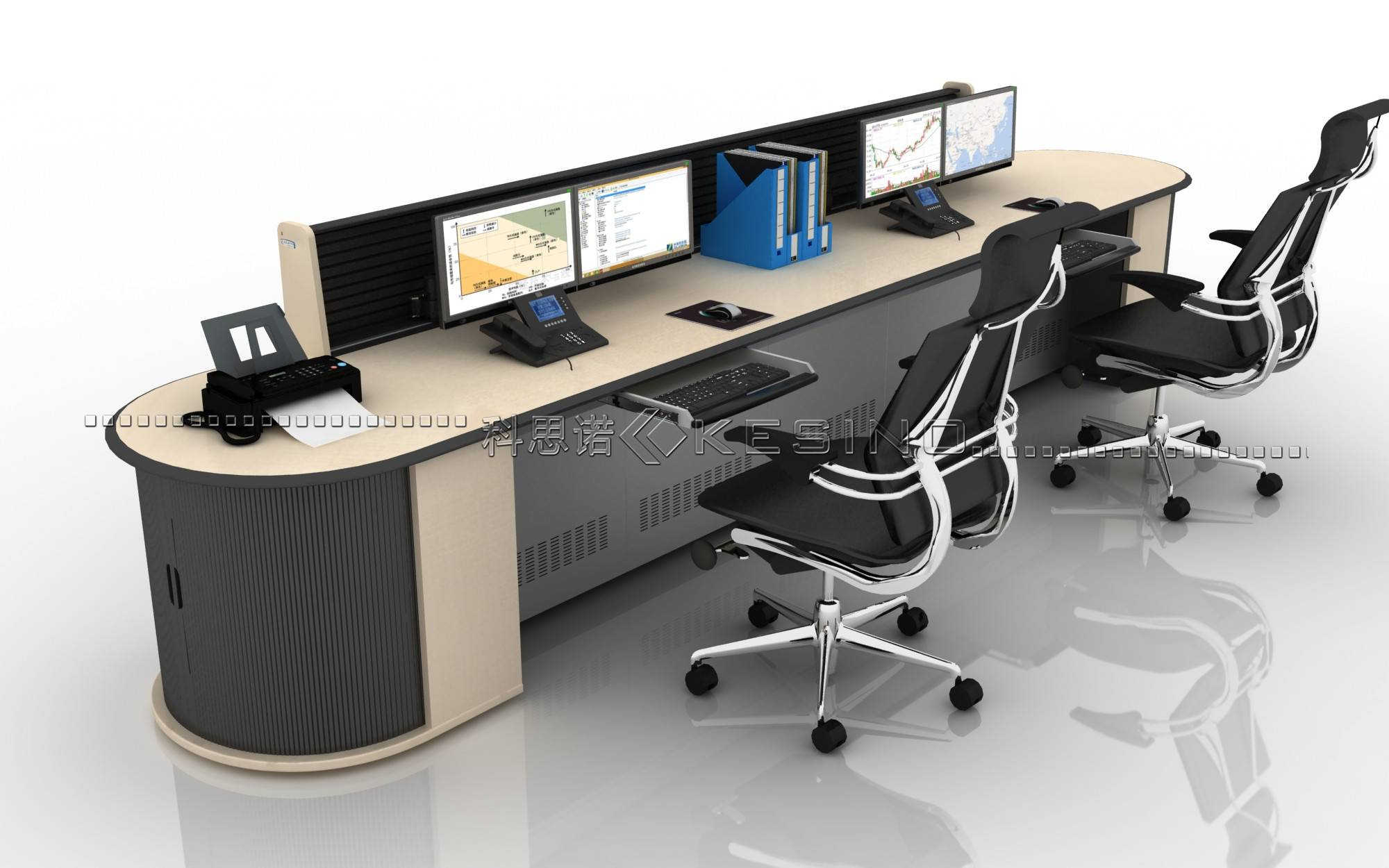 intelligent control room console,office Furniture