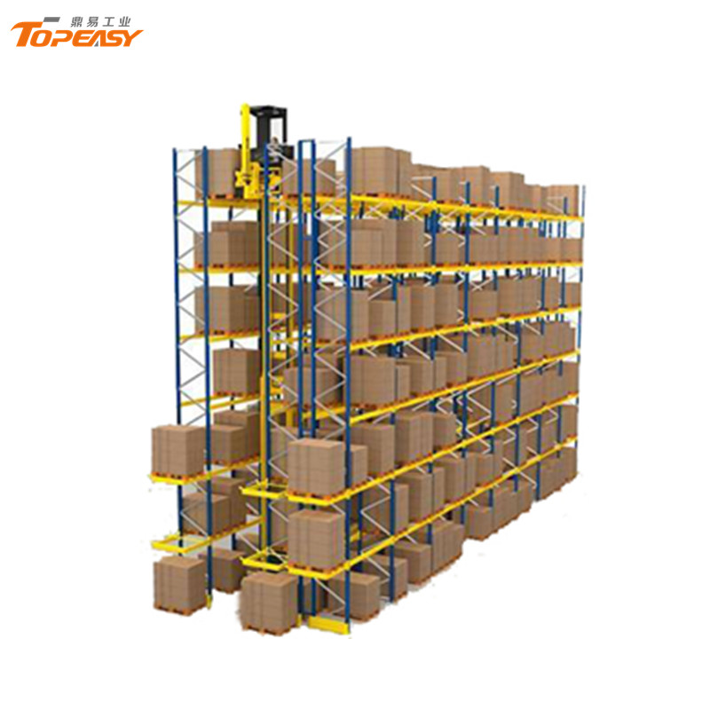Warehouse Metal Storage Very Narrow Aisle Pallet Rack