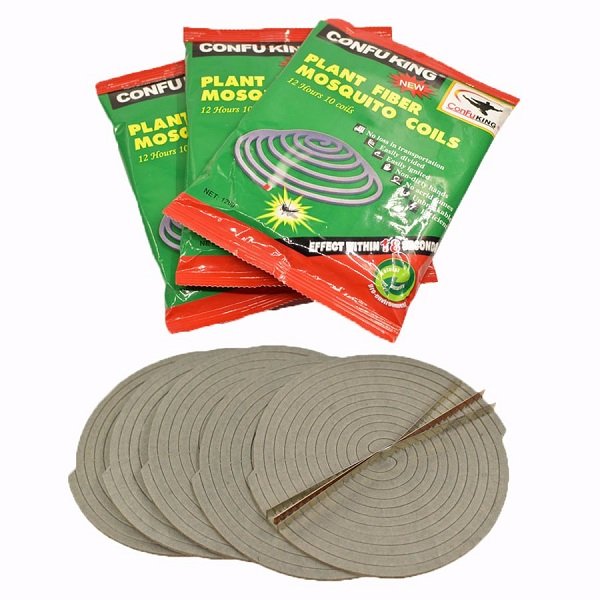 Africa Best Selling unbreakable 140mm ConFuKing plant fiber ecofriendly mosquito coils