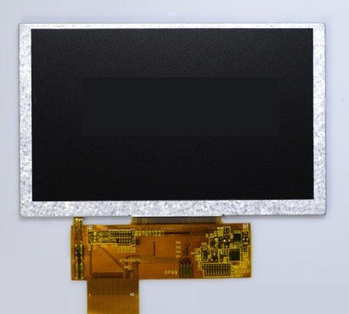 7 inch 800x480 color TFT LCD display module for industrial