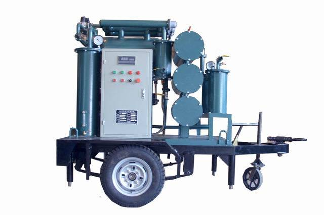 High Efficiency 2 stage Vacuum Oil Purifier