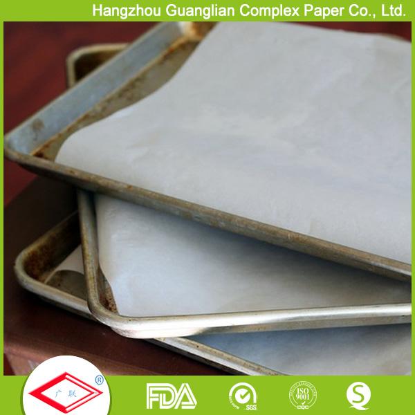 Non-stick oven safe parchment pan liner