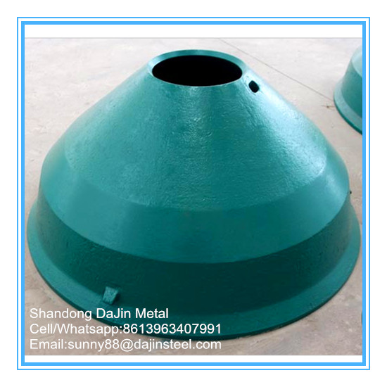 Cone crusher parts manganese steel liner plate for Metso,Terex,Powerscreen Pegson