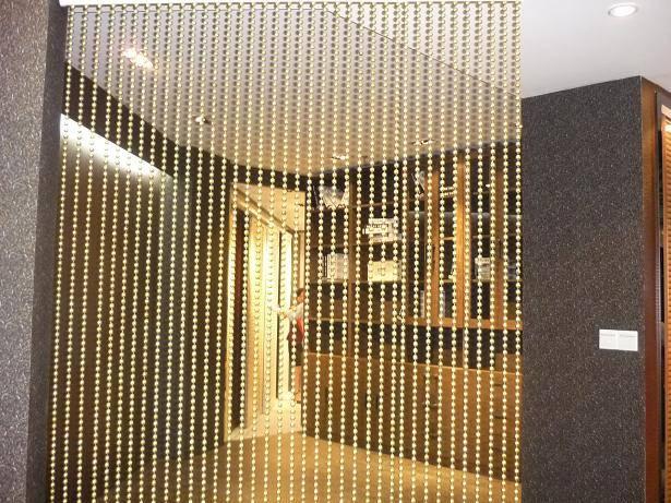 beaded chain curtain