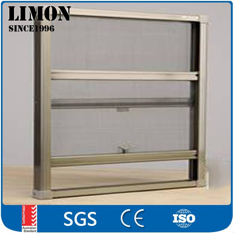 Easy operation aluminium vertical sliding windows for house