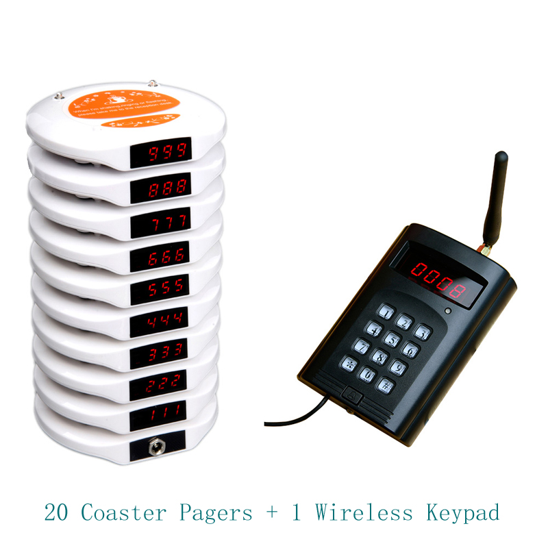wireless restaurant coaster pagers,guest wireless calling pager, NOKYOU wireless pager,pagers