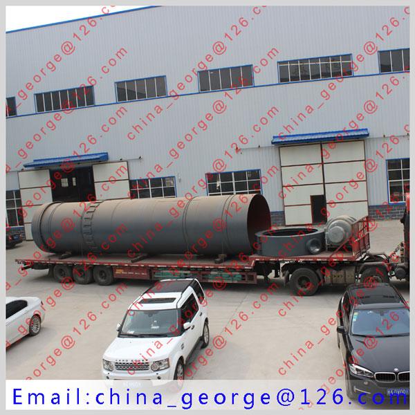 Large capacity hot sale bauxite rotary kiln rotary kiln sold to Pavlodar