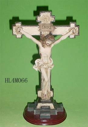 Polyresin religious crucifix, cross