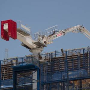 Concrete Placing Pouring Machine Boom Building Equipment