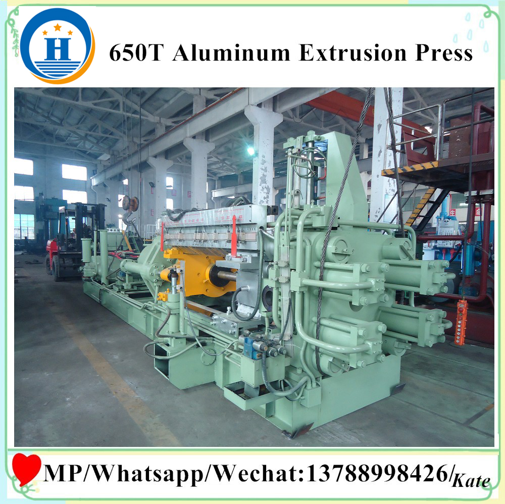 ALUMINIUM EXTRUSION PROFILE MACHINE