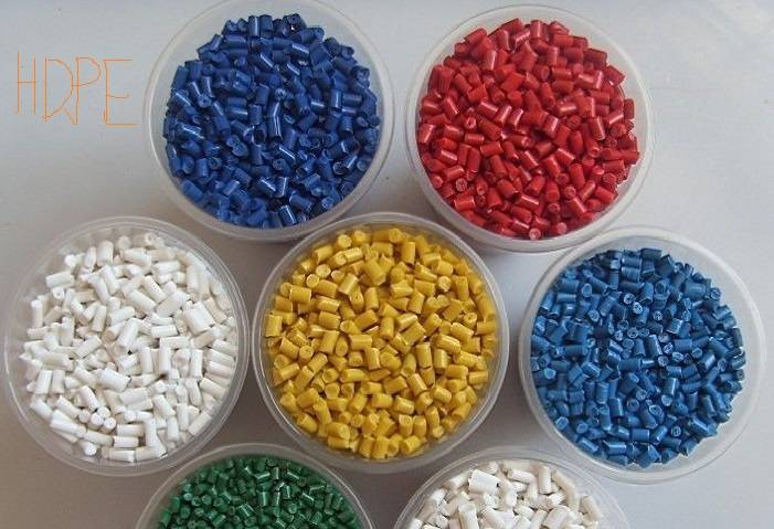 Recycled / Virgin HDPE Renewable Particles Hot!