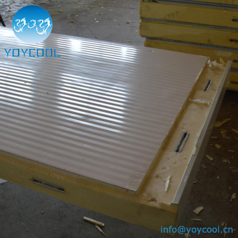 cold room PU sandwich panels with cam lock