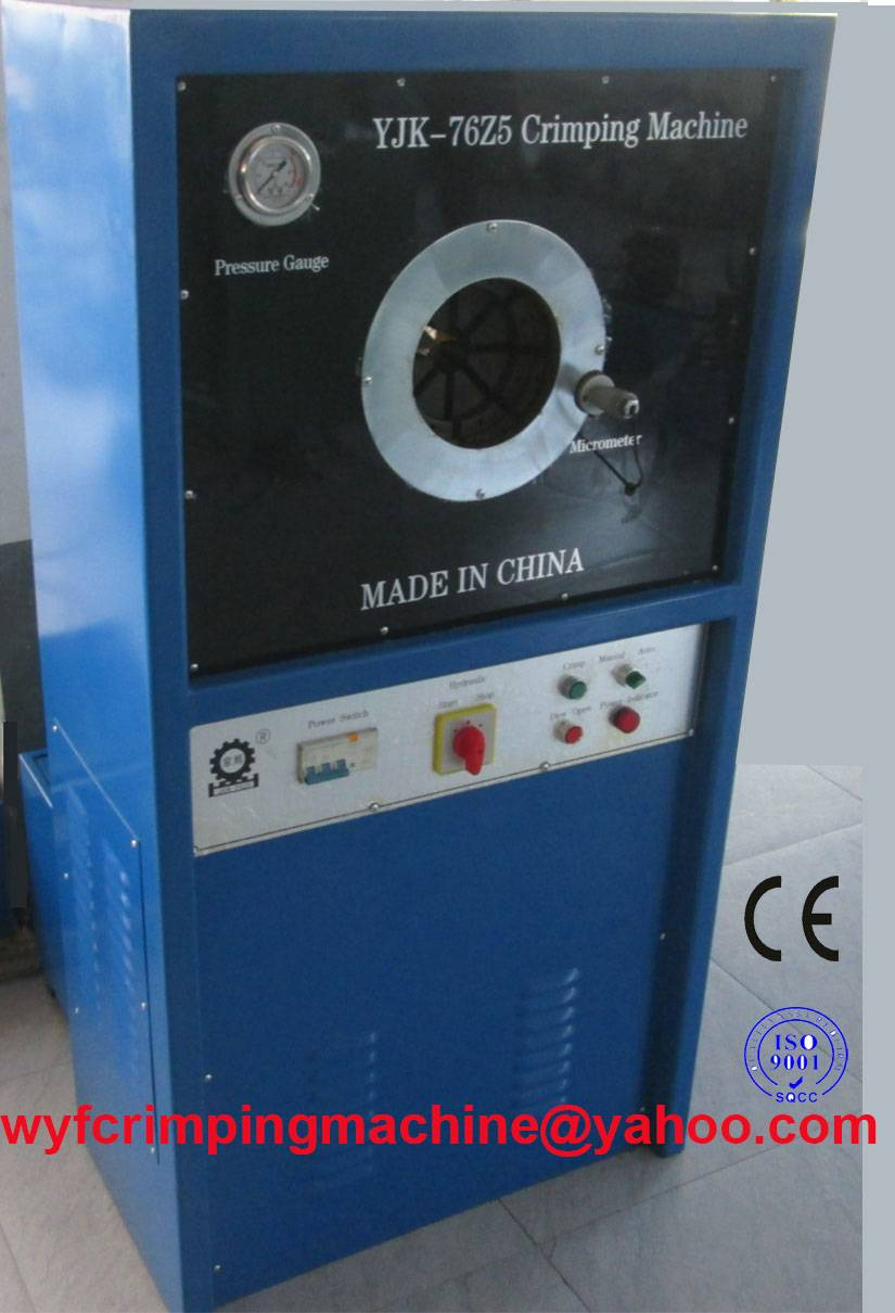 YJK-76z5 Hydraulic Hose Swaging Machine