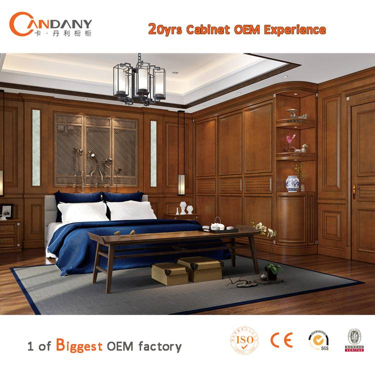 20 Yrs in OEM/ODM Chinese/Antique Style Whole House Customized Cabinet