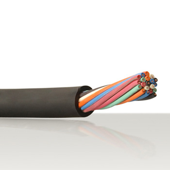 FLEXIBLE PVC CONTROL CABLE 5C X 0.5MM2 80 deg C 300V SHIELDED, UNARMORED GREY COLOR PREFERABLE CORE