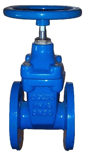 DUCTILE IRON RISING SOFT SEAL GATE VALVE,CLASS 125,FLANGED ENDS,HANDWHEEL