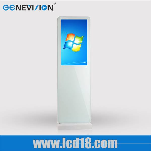 21.5 Inch Motion Activated Digital Signage Lcd Ad Player Dynamic Digital Signage Ultra Thin Light Lc