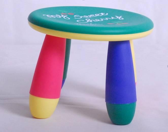2012 Newest modern plastc garden stools for kids