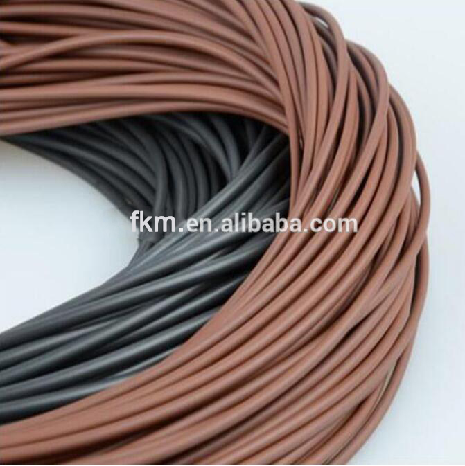 70 Shore A 8 mm Section FKM Cords/Viton Rope For O-rings