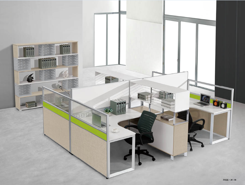 office work station executive table picture,office cabin partition(PG-S40-4C)