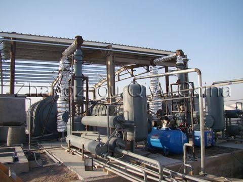 WTE: Waste tyre pyrolysis equipment DL-22-L7