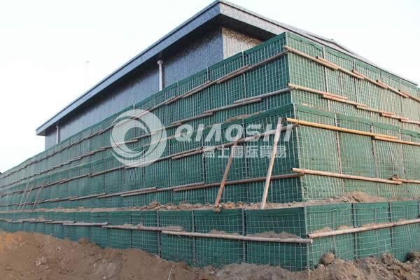 Stone Retaining Gabion Wall /hesco barrier Qiaoshi