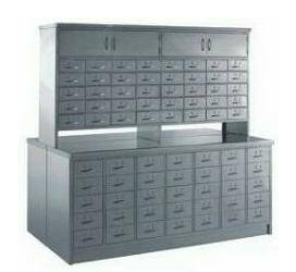 China traditional medicine storage cabinet with small drawers