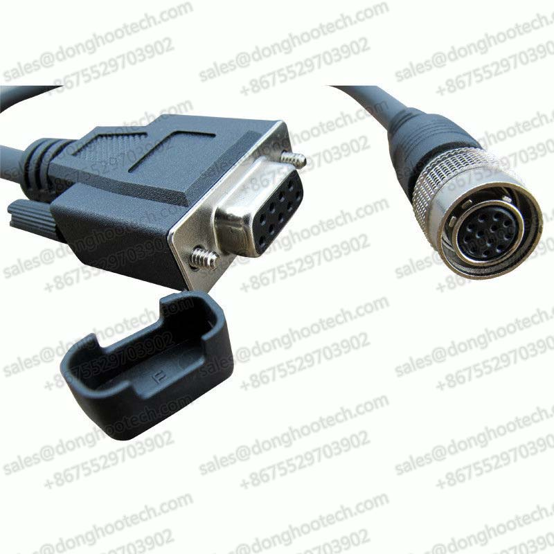 Custom Hirose Cable Db 9Pin to 12pin Female CCXC Connector for Automation Control