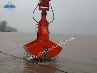 Electro-hydraulic clamshell grab :