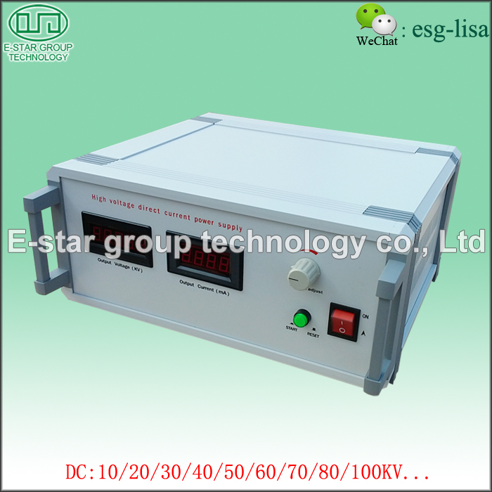 High Voltage Direct Current Power Supply