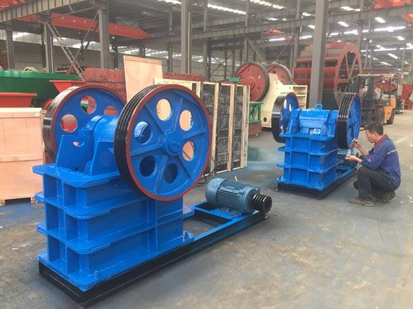 Mining Equipment Stone Crusher / Jaw Crusher