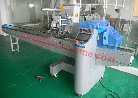 CE approved Automatic Hamburger / Cake Packing Machine, cupcake wrapper