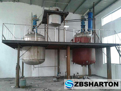 Modified Styrene Acrylate Emulsion Production Equipment for Wall Paints