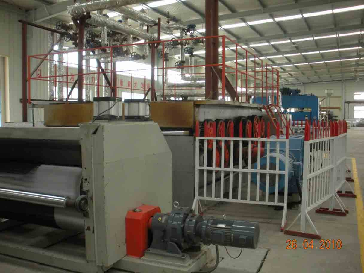 HDPE Uniaxial geogrid production line
