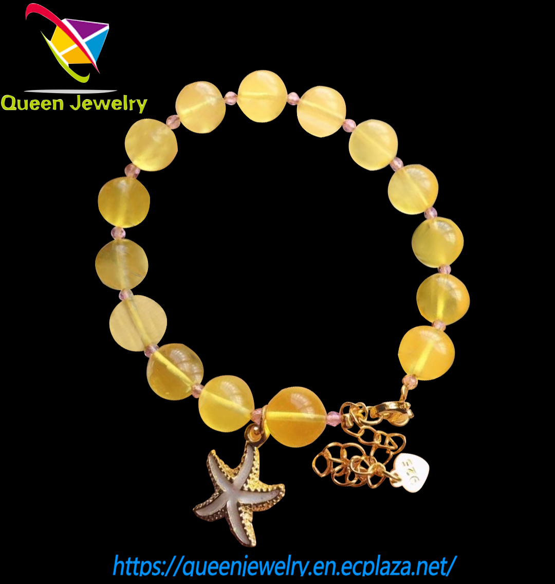 paparazzi jewelry bead bracelet with beeswax yellow color bracelets for women and baby girl