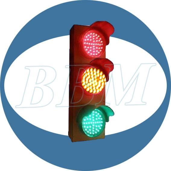 100mm 12v mini traffic lights clear lens