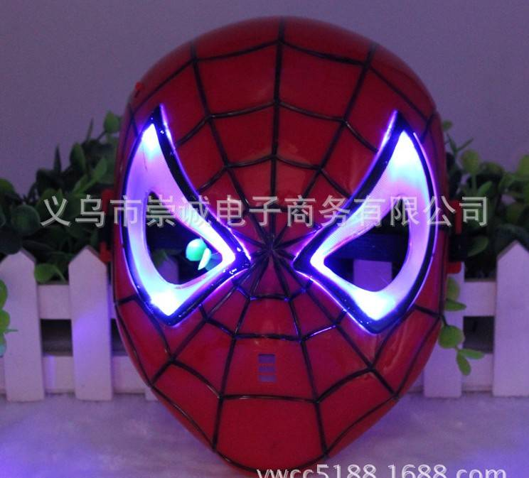 christmas toy LED MASK SPIDER carnival festival holiday supplies party decoration luminous christmas