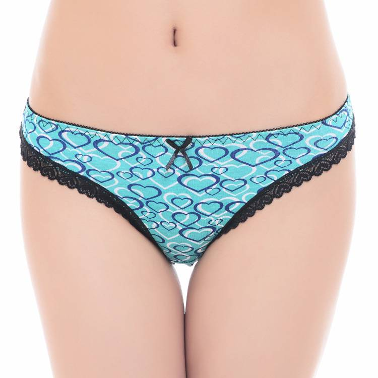 2015 New heart print cotton thong Damenunterhosen girl g-string sexy women underwear stretch lady pa