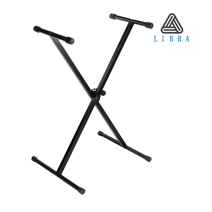 Libra Single-X Keyboard Stand with Pull Knob Lock KS-01