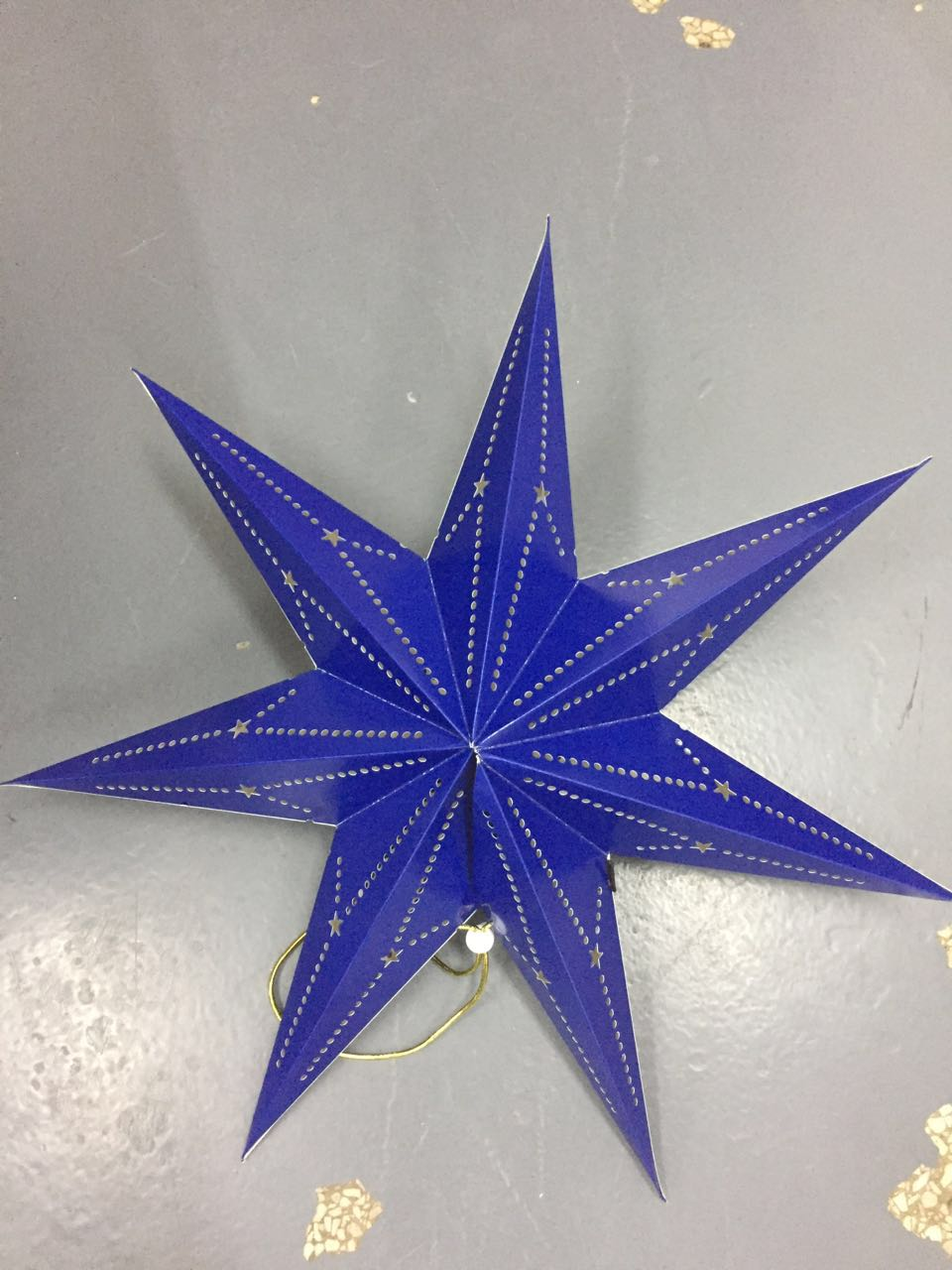 Christmas Party Decoration Paper Star Lantern