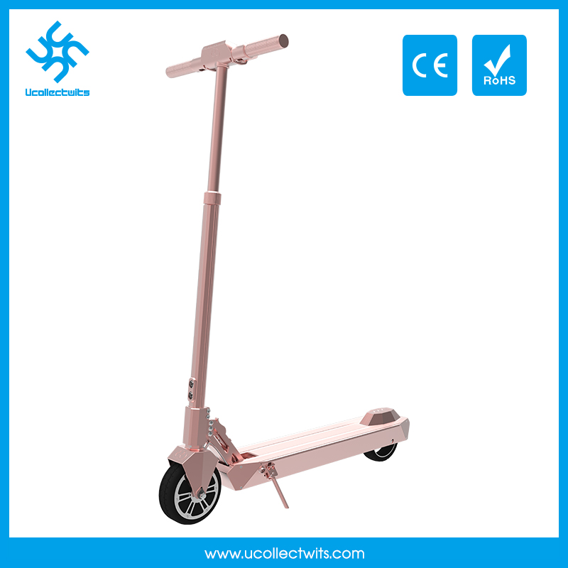 250 watt stand up 6 inch light weight small electric Scooter with pedals