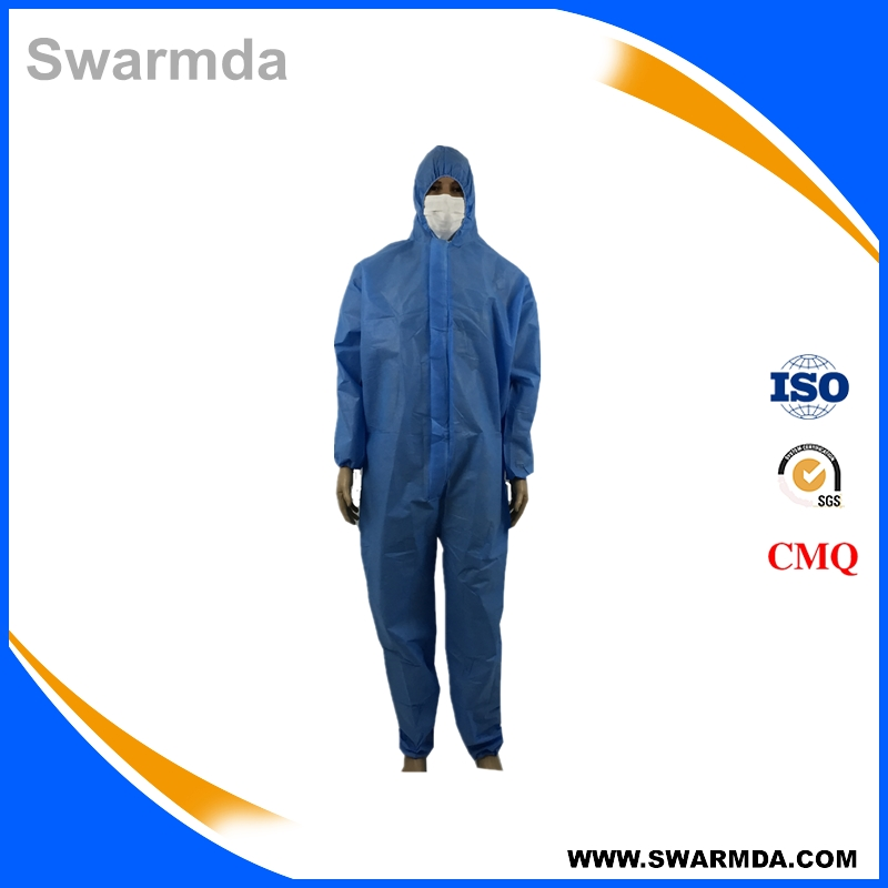 Disposable SMS Chemical Protective Safety Suite Coverall